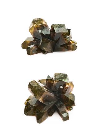 Grown crystal of salt isolated
