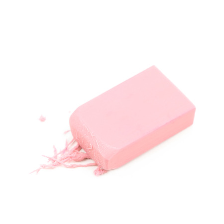 Rubber eraser isolated