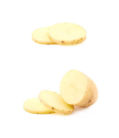 Raw potato composition isolated