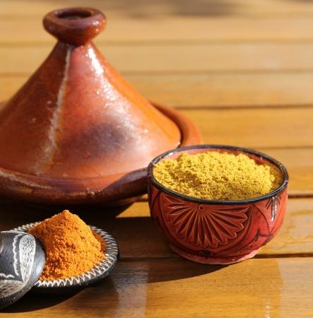 couscous: Spices