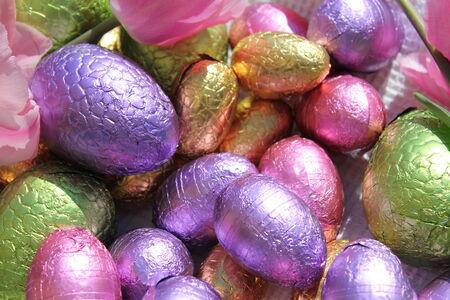 oeufs en chocolat: