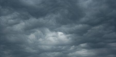 dreary: Angry Storm Clouds Covering Sky