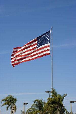 The American Flag Stock Photo - 2642724