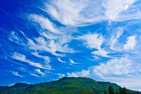 sky feather clouds