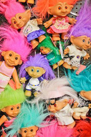 troll dolls: Troll dolls