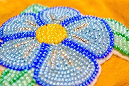 Beaded Flower Фото со стока