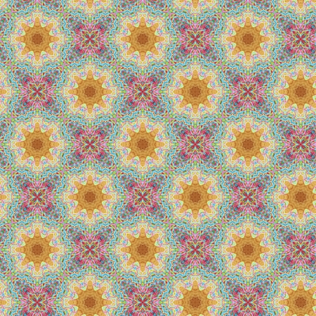 pink, blue, and orage vintage background pattern Фото со стока