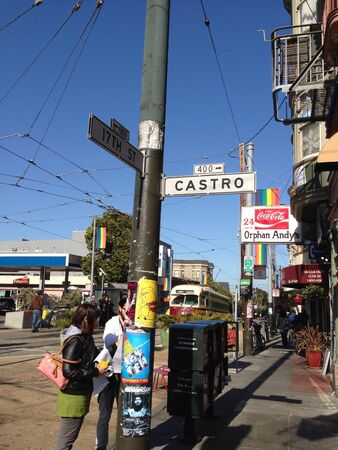 Castro street sign