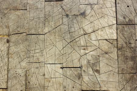 Broken and Scratched Wood Texture