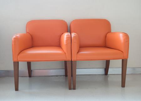 orange chairs: waiting room orange chairs, door on the floor