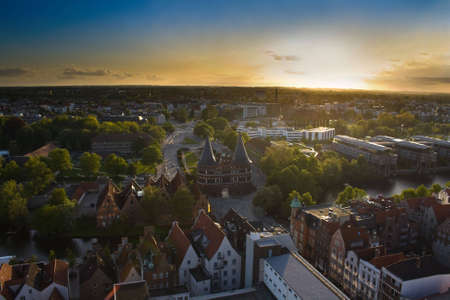sity: lubeck panorama