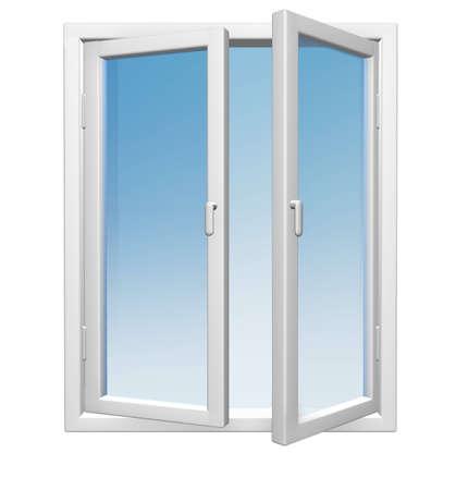 open window: Abrir ventana aislado