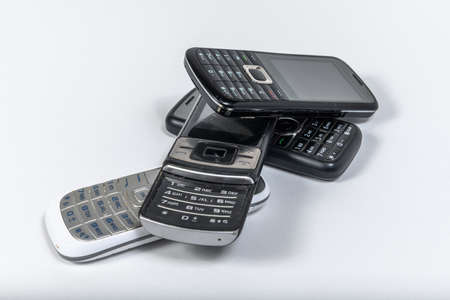 Obsolete used mobile phones for recycling