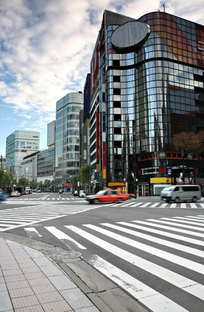 Modern Architecture in Japan Stock Photo