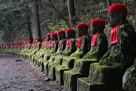road warrior: Jizo Statues in Nikko, Japan