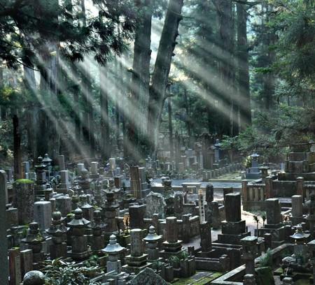 Okunoin Cemetery at Mount Koya