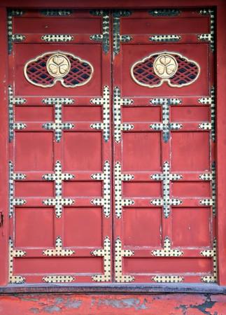 Oriental Doorway - Zozoji Temple, Tokyo