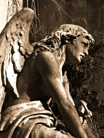 Sleeping Angel at La Recoleta Cemetery in Buenos Aires photo