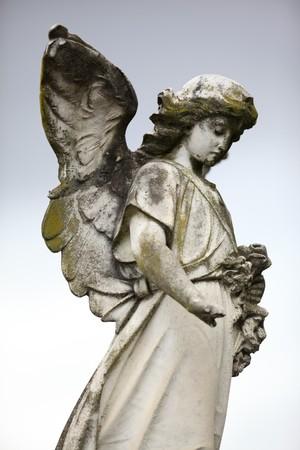 Beautiful sculpture at a cemetery in Melbourne Australia  photo