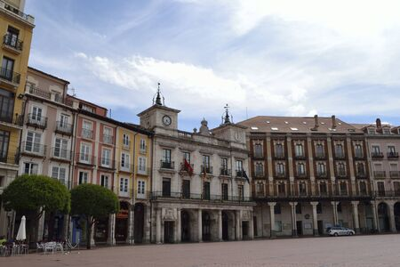 mayor: Plaza Mayor and city hall, Burgos, Spain