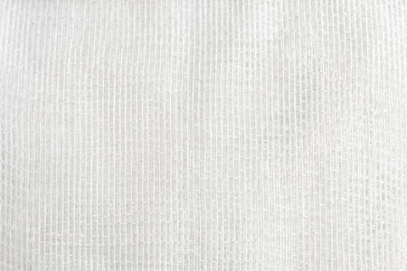 gauze: white gauze background. white fiber background