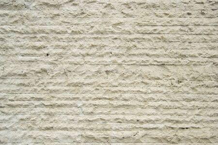 lineas horizontales: blanco muro de piedra, l�neas horizontales Foto de archivo
