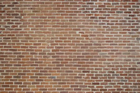 little red bricks wall Stock Photo