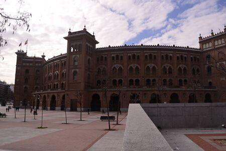 las ventas: Las Ventas square, Madrid, Spain