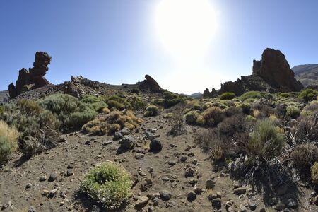 streifzug: Roques de Garca, el Teide, Tenerife. Volcanic island