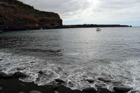 marcos: San Marcos beach, Tenerife, Spain Stock Photo