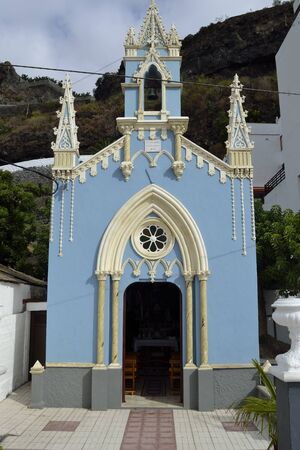 marcos: little church of San Marcos, Tenerife, Spain Stock Photo