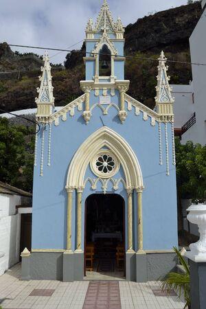 marcos: little church of San Marcos, Tenerife, Spain Stock Photo