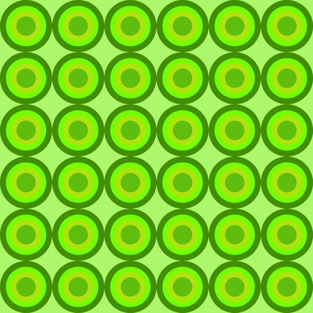 circles pattern: green circles pattern background