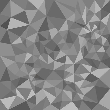 grey: grey polygon pattern. Abstract background