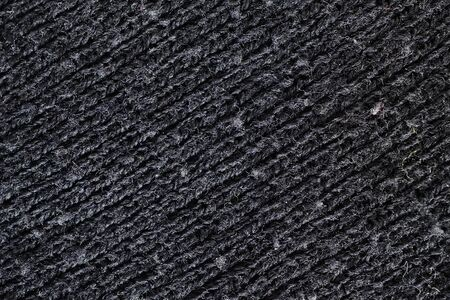 diagonal lines: black wool texture, diagonal lines Stock Photo