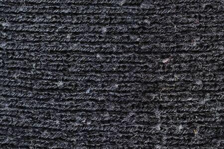 wool texture: black wool texture, horizontal lines