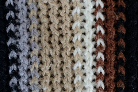 wool texture: wool texture, vertical white, brown, grey and black lines