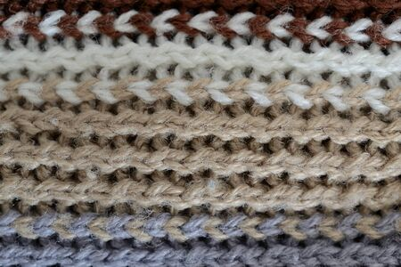 wool texture: wool texture, horizontal white, brown, grey and black lines