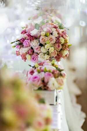 textured background: Decoration with beautiful roses