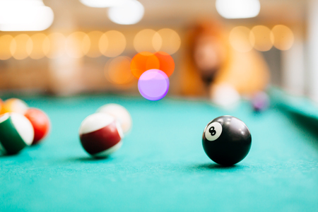 bola ocho: Billar pool bola ocho