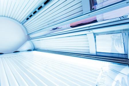 Binnen van een horizontale solarium