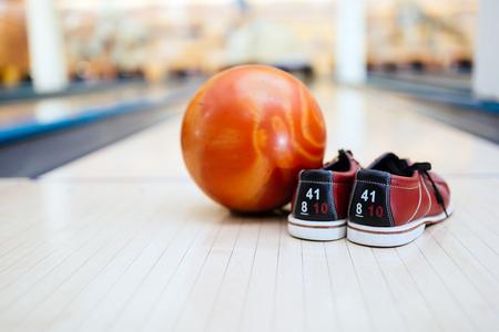 ボウリングに必要な 写真素材
