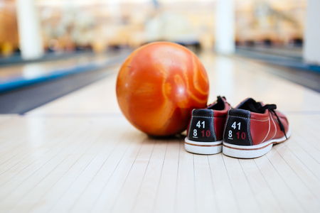 All you need for bowling Reklamní fotografie - 86040622