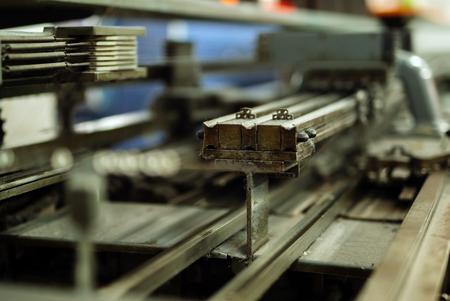 機能の古い編み機