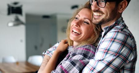 ボンディング恋感傷的なカップル 写真素材