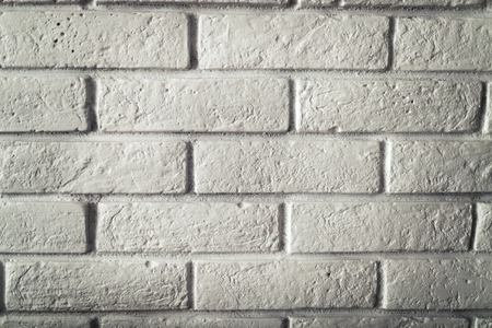 White brick wall texture and background Stock Photo - 97237147