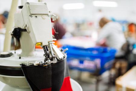Linking machine industry Standard-Bild - 97857860