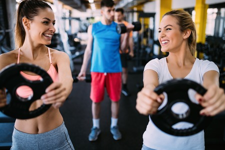 fitness, sport, exercising and healthy lifestyle concept Stok Fotoğraf