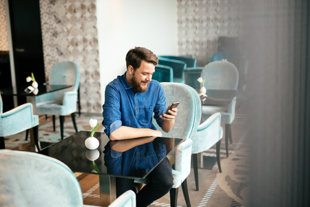 Man waiting for date to arrive