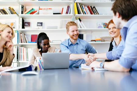 Successful partnership in business Reklamní fotografie